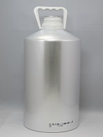 Aluminiumbottle 6.250 ml - System 51 UN - Round shoulder
